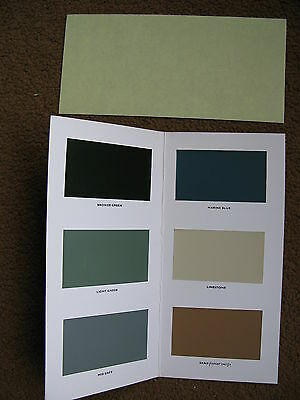 Land Rover series colour guide early excellent original 1971  a 1 2  view