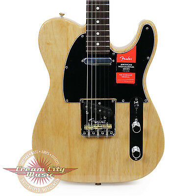 Brand New Fender American Professional Telecaster Rosewood in Natural Demo
