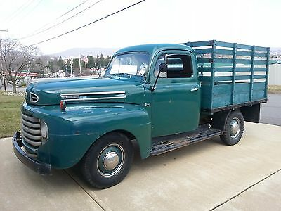1949 Ford Other Pickups  1949 Ford F1 Stake Body Truck