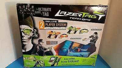Lazer Tag Team Ops Deluxe 2-Player System by Hasbro & Tiger Electronics - New!!!