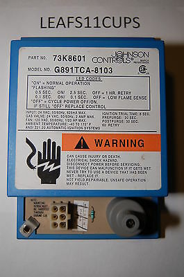 Lennox Pulse Ignition Module 60J00 73K86 Used G14 G21 Fast Shipping W/trace