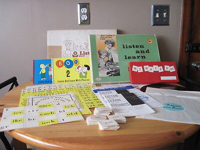 Vintage Collectible Listen and Learn With Phonics Good Housekeeping 1960's