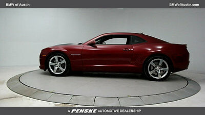 2010 Chevrolet Camaro 2dr Coupe 2SS 2dr Coupe 2SS Low Miles Gasoline 6.2L 8 Cyl Red Jewel Tintcoat