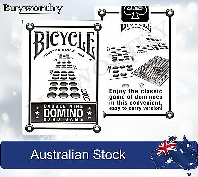 Double Nine Domino Deck Card Game Premium Playing Cards Bicycle Made in USA