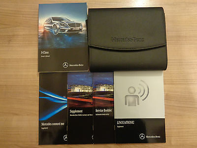 Mercedes S Class Owners Handbook/Manual and Pack 13-16