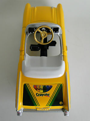Yellow Pedal Car Vintage Sport Hot Rod Midget Metal Show Model