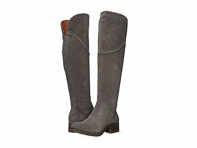 c8a31bafce7 Lucky Brand Harleen Over The Knee Boots Size 6 M Storm Grey Suede New In Box