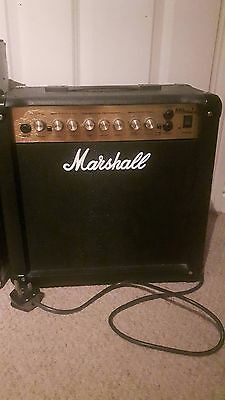 Marshall Guitar Amplifier MG15DFX Series, 15 Watt - Used Amp Good Condition
