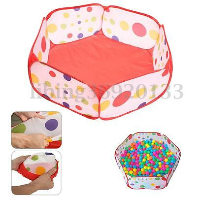 Foldable Play Toy Tent Baby Kid Children Ocean Ball Pit Pool Outdoor Indoor 90cm
