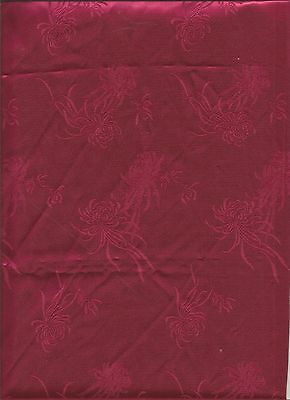 """Red Satin Fabric 44"""" Wide BTY"""