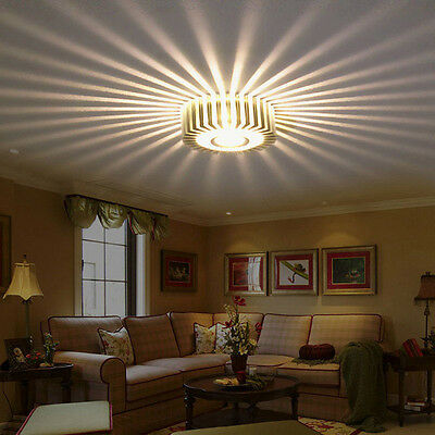 3W LED Aluminum Home Ceiling Light Chandelier Fixture Pendant Lamp Lighting