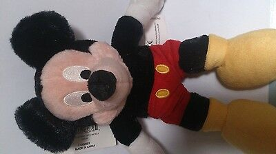 Disney 75 years MICKEY MOUSE VINTAGE LOOK STUFFED PLUSH TOY