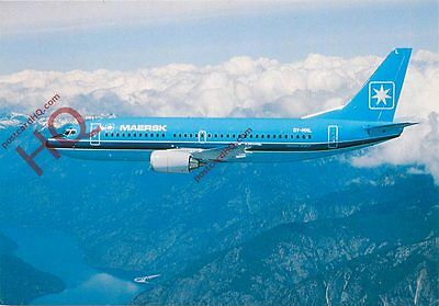Postcard: Maersk Air Boeing 737-300 [Airline Issue]