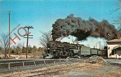 Postcard: NORFOLK and WESTERN CLASS A 2-6-6-4