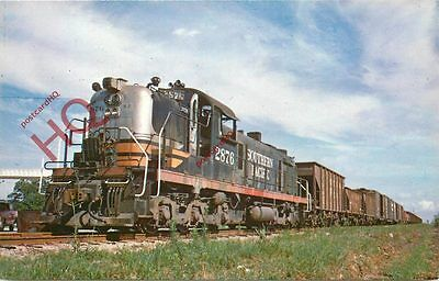Postcard: SOUTHERN PACIFIC 2876, ALCO RSD SWITCHER