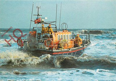 Postcard: SKEGNESS LIFEBOAT, A MERSEY CLASS LIFEBOAT