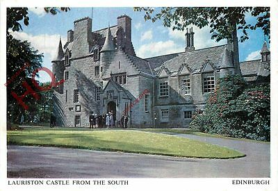 Postcard: Edinburgh, Lauriston Castle From The South