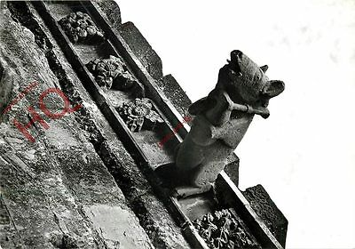 Postcard: Melrose Abbey, Pig With Bagpipes On South Wall Of Nave