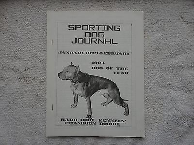 "Pit Bull  Jan/feb 1995 issue of  ""Sporting Dog Journal"""