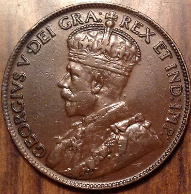 1920 Canada Large Cent In Great Condition !