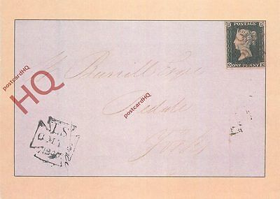 Postcard: A First Day Cover Of The Penny Black [Stamp World]