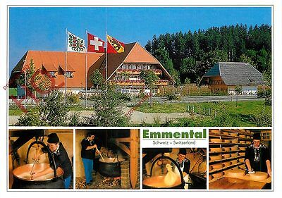 Postcard: Emmental (Multiview) Cheese Making