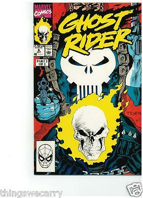 Ghost Rider Comic Book #6,29 & Ghost Rider & Cable #1 Lot Wolverine Punisher
