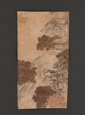 JIKUk25051 jrSw China/KOREA MAKURI SCROLL SANSUI