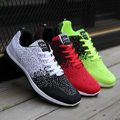 Women Men's Breathable Mesh Sneakers Casual Lovers Sports Running Shoes