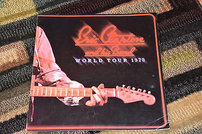 Eric Clapton World Tour 1978 program