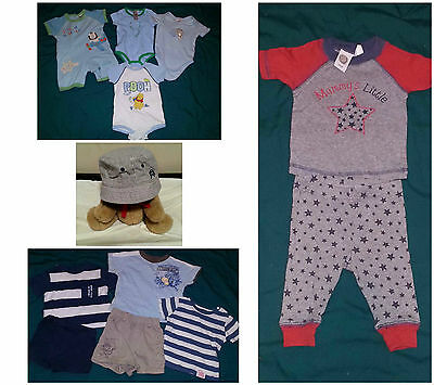 Baby Boys Summer Clothes mainly size 000 with a couple of size 0000 items