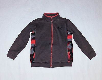 Under Armour Insulated Full Zip Cold Weather Thermal Jacket Sz Youth Md Flawless