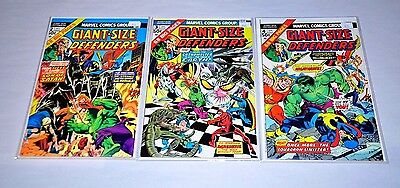 Giant-Size Defenders 2 3 4 HIGH GRADE Lot 1st Korvac