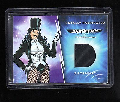 2016 Cryptozoic DC Justice TF12 Zatanna fake costume card