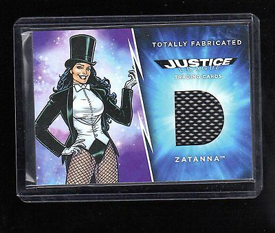 2016 Cryptozoic DC Justice TF12 Zatanna fake costume card #2