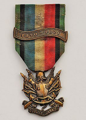 France: French Franco Prussian 1870-1871 Veterant Medal