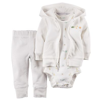 Carters Baby Girl Boy Neutral Unisex Clothes Outfit Set NWT Size 12M 12 Months