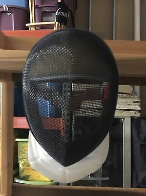 Fencing Protective Helmet Gear Small Padded Velcro  Face Mask