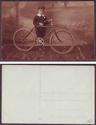 z2083/ Denmark Cycle-Bicycle Postcard ca1910