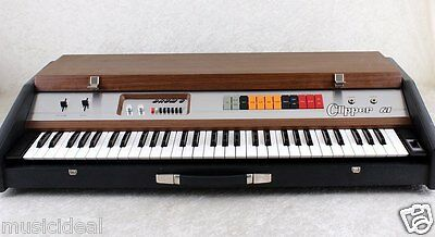Vintage Top 100% Analog Synthesizer Galanti Clipper 61 organ 70`s ~Made in Italy