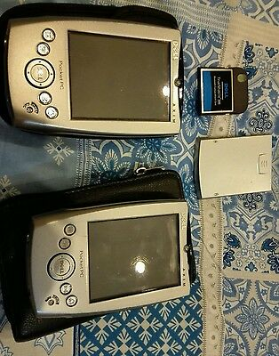 2x Dell Axim X5 PDA's with cases