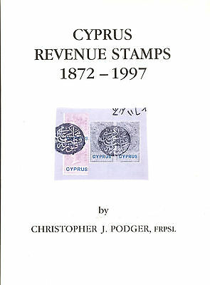 Cyprus Revenues Stamps 1872-1997 By Chr.podger Book New For All Revenues