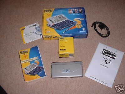 PSION 5MX PDA - REFURBISHED boxed with accessories