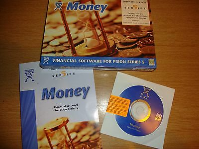 PSION 5 Series PALMTOP SOFTWARE MONEY BOXED with User Guide