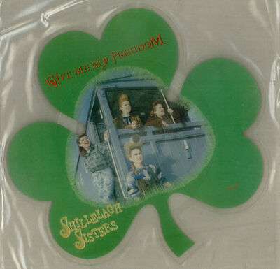 Shillelagh Sisters Give Me My Freedom shaped picture disc vinyl record UK