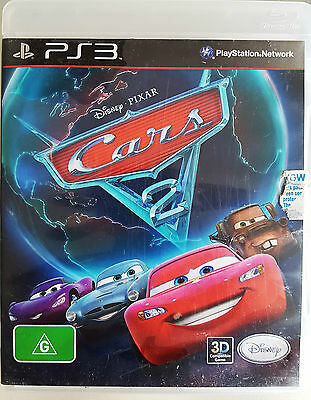 Disney Pixar Cars 2 The Video Game For Sony Ps3