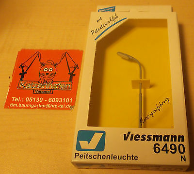 Viessmann 6490 N Street lamps With LED