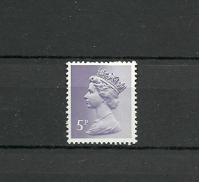 Great Britain Machin 1974 5 p FCP PVAD 2 Band   SG X 866 MNH