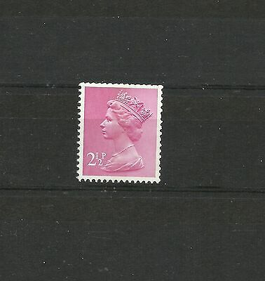 Great Britain Machin 2.5p FCP PVAD 1CB SG U87 MNH