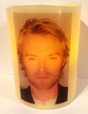 RONAN KEATING Boyzone ELECTRONIC FLAMELESS FLICKERING CANDLE